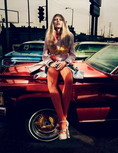 Anna Ewers by Mikael Jansson for Interview Magazine March 2014