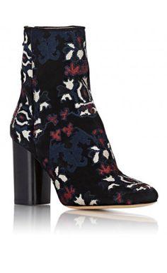 Isabel Marant Guya Ankle Boots Black/Multi #isabelmarant #boots #fashion #shoes