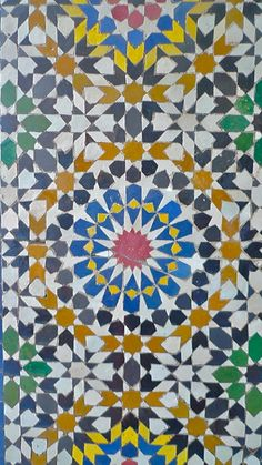 """moroccan tile 