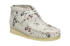 Wallabee Boot, Multicolour Suede, Mens Originals Boots