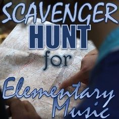 """Scavenger Hunt for Elementary Music - """"Found Sounds"""" - Outside Activity PDF End Of Year Activities, Music Activities, Music Games, Movement Activities, Elementary Music, Elementary Education, Music Education, Outdoor Games For Kids, Music Classroom"""
