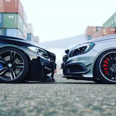 No hate between ///Ⓜ️ and ///AMG Owner @blackmamba_m4 Follow @bmw.beasts