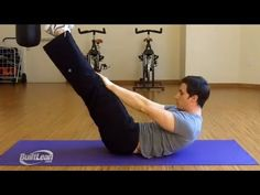 5 Exercises For Abs: Abs Progression - Videos - The Cycling Bug