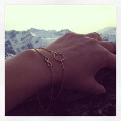 must-haves | image via: @ingunn_hoel #dogeared #karma #infinity #bracelets