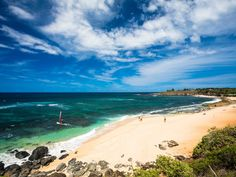 It's all about indulging your castaway fantasies in this small village at the center of Maui's North Coast. Sure, the town center is sweet, even a little hip: It boasts a too-cool tattoo parlor and boutiques selling stylish, locally made beachwear. However, insiders know that Paia is all about the beach: namely, Ho'okipa Beach Park, beloved by locals for its white sand and by surfers, wind-surfers, and kite-surfers for its near-perfect breaks. Insider tip: Grab a plate lunch at the Paia Fish…