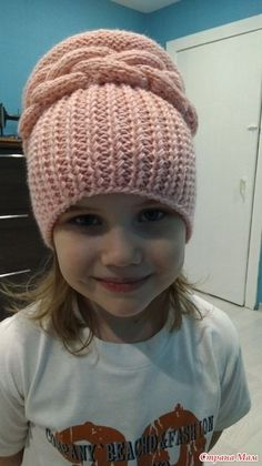 This Pin Was Discovered By Валентина Бал - Diy Crafts - maallure Pixel Crochet, Knit Crochet, Baby Hats Knitting, Knitted Hats, Tricot Simple, Make Up Organizer, Knitting Patterns, Crochet Patterns, Diy Hat