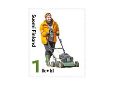 COLLECTORZPEDIA Grass Cutting Postage Stamps, Finland, Grass, Grasses, Stamps, Herb