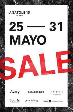 En nuestro Open House y hasta finalizar mayo, todas las marcas de #Anatole13 con precios especiales. ¡Aprovecha!