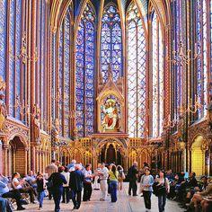 Святая капелла Людовика IX