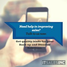 Generating IT sales leads is highly essential if you want your disaster recovery products increase revenue and achieve better publicity. Recovery, Survival, Products, Gadget, Healing