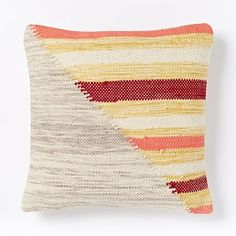 Axis Stripe Pillow Cover $69 #westelm