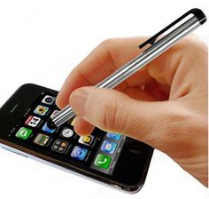 Free Touchscreen Metal Stylus Pen for iPad and iPhone