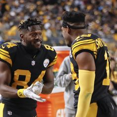 868dc18b Antonio Brown Rips JuJu Smith-Schuster; Says WR Fumbled Away Steelers'  Playoffs #