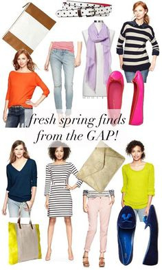 jillgg's good life (for less) | a style blog: think spring! (Gap's new arrivals that I can't stop swooning for!)