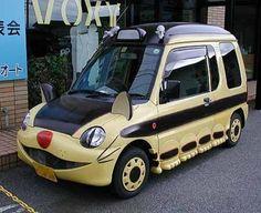 """Un coche tuneado como el Gatobús de """"Mi vecino Totoro"""". ¡Lo quiero!"""
