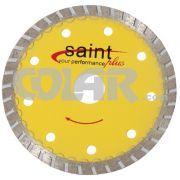 Disco Para Serra Mármore Turbo - Saint - Disco diamantado especialmente projetado para cortar, granitos, pisos cerâmicos, paredes de alvenaria, alta velocidade, corte perfeito. www.colar.com