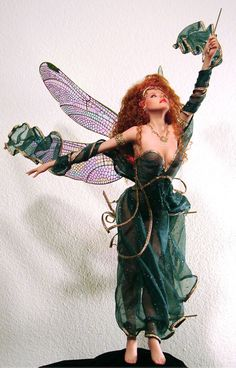 Shaylee - Queen of the Forest Artist: Joe MacPhale Johnston Original Art Dolls - magnificent!