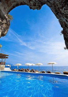 Santa Caterina Hotel, Costa Amalfitana, Itália .