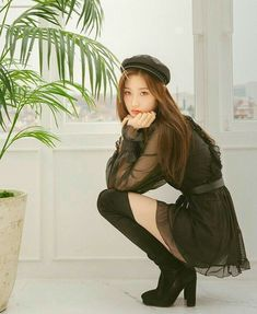 K-Pop Babe Pics – Photos of every single female singer in Korean Pop Music (K-Pop) Kpop Girl Groups, Kpop Girls, Korean Girl, Asian Girl, My Girl, Cool Girl, Jung Chaeyeon, Kpop Outfits, Kawaii Girl