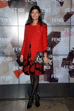 Front row semanas de la moda Milan otono invierno 2014
