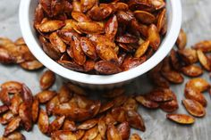 Carolina Charm: Roasted Pumpkin Seeds