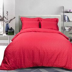Luxury bed linen is one of the leading comforts you can contain for the bedroom. Bed sheets, Bedding sets, Home Linen Red Bedding Sets, King Comforter Sets, Luxury Bedding Sets, Bed Sheets Online, Bedding Sets Online, Luxury Bed Sheets, Linen Bedding, Bed Linen, Sheets Bedding