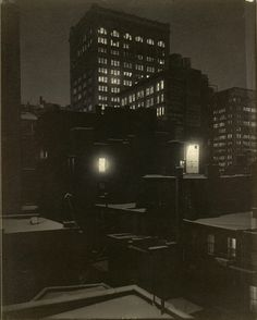 Affred Stieglitz (1864-1946) and American Photography. From the Back Window, 291