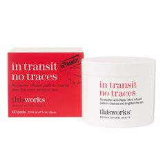 This Works In Transit No Traces Cleansing Pads at BeautyBay.com