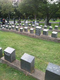 Titanic graves Nova Scotia
