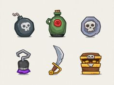 Pirate Icons