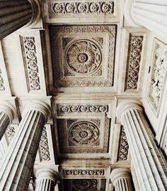 columns and ceiling architecture