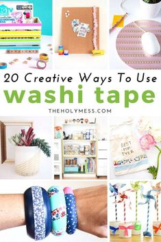 Best Washi Tape Crafts On the lookout for some superior however straightforward DIY concepts? Have you ever heard of washi tape crafts? You'll have simply discovered your ex. Diy Crafts For Teen Girls, Diy Projects For Teens, Craft Projects, Craft Ideas, Kids Diy, Diy Ideas, Party Ideas, Washi Tape Crafts, Paper Crafts