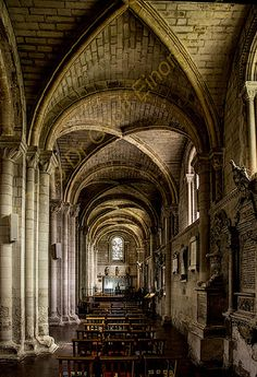 Dunstable Priory, Bedfordshire, England. Built in the reign of Henry I in 1132…