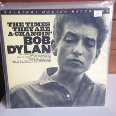 BOB DYLAN The Times They Are A-Changin' LP 1983 MFSL SEALED MINT #FolkRevivalFolkRock