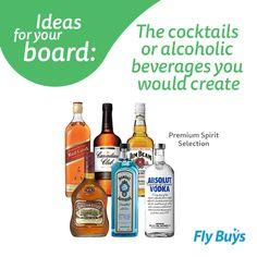 Spirit Selection #530pts #flybuysnz Alcoholic Beverages, Cocktails, Absolut Vodka, Vodka Bottle, The Selection, Spirit, Treats, Lifestyle, Board