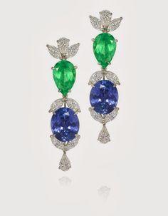Safiras esmeraldas diamantes