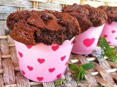 Muffin integrali al cioccolato
