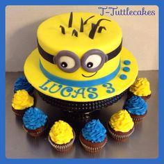 Minion cake ;)