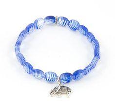 """""""True Blue Jeans"""" Bracelet $11"""