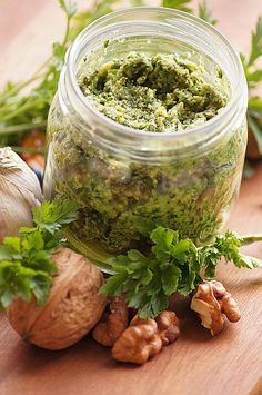 Chunky Cashew Pesto, Basil and Parmesan Dip - Serve It With Love Nail Stamping Plates, Yummy Food, Tasty, Pesto Recipe, Flower Plates, Dip Recipes, Pickles, Cucumber, Smoothie