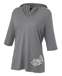 Body Star Yoga 3/4 Sleeve Hood