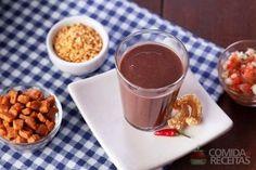 Receita de Caldinho de feijão preto prático em receitas de sopas e caldos, veja essa e outras receitas aqui!