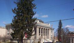 Marion, VA : Smyth County, Virginia Court House, located on Main Street, Marion, Virginia