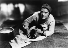 Ruth Harkness, Baby Giant Panda Su-Lin, Circa 1936. The first live panda to be brought into the U.S. She carried him around with her and really shaped the way we think about wild animals.