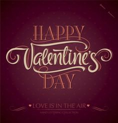 Buy 'Happy Valentine's Day' Hand Lettering by letterstock on GraphicRiver. 'happy valentine's day' hand lettering – handmade calligraphy; scalable and editable vector illustration hi-r. Saint Valentine, Valentine Day Love, Valentine Day Cards, Types Of Lettering, Hand Lettering, Lettering Design, Creative Lettering, Valantine Day, Chalkboard Doodles