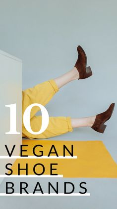 10 Vegan Shoes That Are Stylish, Functional, & Cruelty-Free // You'll love these shoes that are ethically made - without animal products! #veganshoes #vegan #veganfashion #veganlife #shoes #footwear #fashion