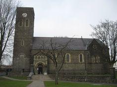 St David's Church, Merthyr Tydfil, built in 1846
