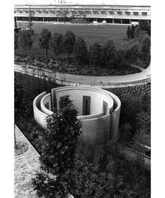 LE CYLINDRE SONORE | PARIS | FRANCE: *Built: 1987; Architect: Bernhard Leitner* Photo: via ArchDaily