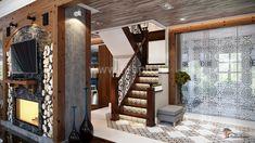 Дизайн интерьеров дома по проекту JAAKKO 187 Stairs, Interior Design, Home Decor, Ladders, Design Interiors, Homemade Home Decor, Home Interior Design, Stairway, Interior Architecture