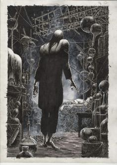 Cool Art: 'Frankenstein Alive, Alive' by Bernie Wrightson